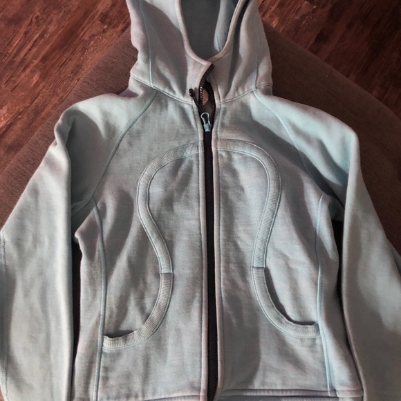 Blue lululemon zip up hoody!